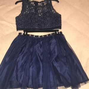 JC Penny 2 Piece Homecoming Dress